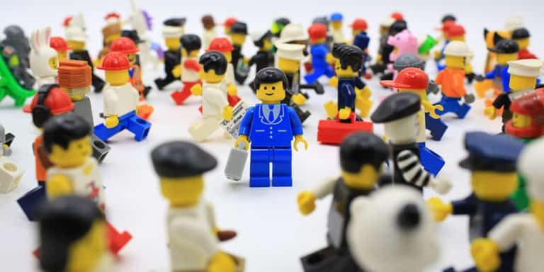 lots of lego people